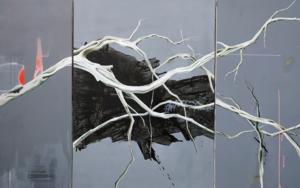 Raices #04|PinturadeAya Eliav| Compra arte en Flecha.es