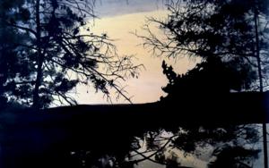 Bosque #1014|PinturadeAya Eliav| Compra arte en Flecha.es