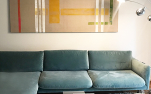 Pintura Geometrica I|PinturadeLucia Ballarin| Compra arte en Flecha.es