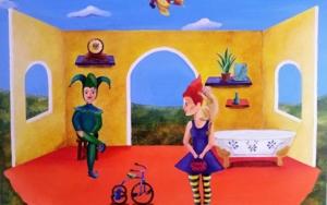 Juego de la Vida|PinturadeClaudine Brantes| Compra arte en Flecha.es