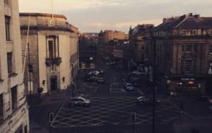 Street view │acid-free photo paper│printed in the UK│pine thick border│Original|FotografíadeJHIH YU CHEN| Compra arte en Flecha.es