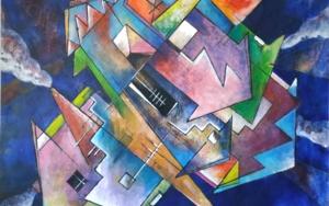 Smoke City|PinturadeCarlos Anabeil| Compra arte en Flecha.es