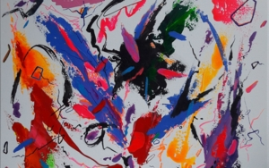 HOUGAKU  MUSIC  JAPAN - II PinturadeValeriano Cortázar  Compra arte en Flecha.es