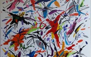 HOUGAKU  MUSIC  JAPAN - I|PinturadeValeriano Cortázar| Compra arte en Flecha.es