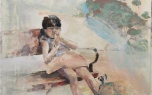 Tu que miras ...|CollagedeGloria Loizaga| Compra arte en Flecha.es