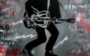 The Last Days Of Combat Rock PinturadeCarlos Madriz  Compra arte en Flecha.es