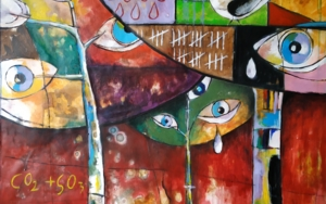 LLora|PinturadeCarlos Anabeil| Compra arte en Flecha.es