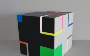 Cube I EsculturadeLuis Medina  Compra arte en Flecha.es