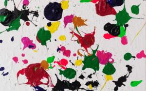Constelación de color|PinturadeRemedios Rubiales| Compra arte en Flecha.es