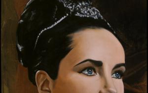 Liz Taylor|PinturadeEnrique González| Compra arte en Flecha.es
