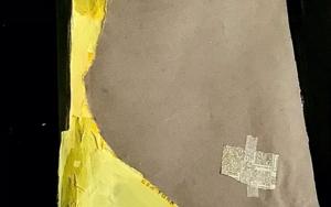 Adobe y montaña|CollagedePittis Art| Compra arte en Flecha.es