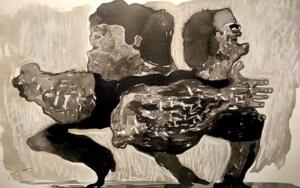 Bailaores|IlustracióndePittis Art| Compra arte en Flecha.es