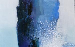 La isla en la orilla|PinturadeCarmen Montero| Compra arte en Flecha.es