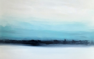 Adiós cielo azul|PinturadeEsther Porta| Compra arte en Flecha.es