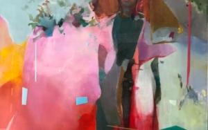 Figura con sombrero CollagedeAna Alcaraz  Compra arte en Flecha.es