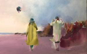 Amenaza lluvia|Imagen en movimientodeAna Alcaraz| Compra arte en Flecha.es