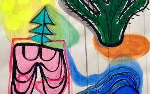 Banana split|DibujodeLisa| Compra arte en Flecha.es