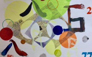 Divertimento III|CollagedeOlga Moreno Maza| Compra arte en Flecha.es