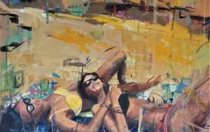 Juntas PinturadeAmaya Fernández Fariza  Compra arte en Flecha.es