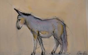 Burro I|DibujodeOliverPlehn-Artist| Compra arte en Flecha.es