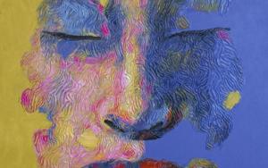 PERSONAJE 43|PinturadeJuan Chamizo| Compra arte en Flecha.es
