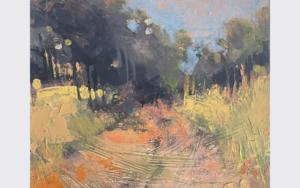 Along the scorched path|PinturadeJENNY FERMOR| Compra arte en Flecha.es