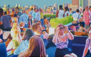 Terraza al sol PinturadeJose Belloso  Compra arte en Flecha.es