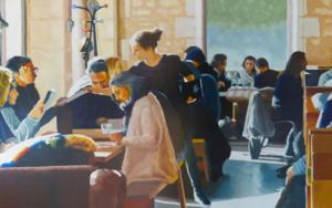 Terraza interior 2|PinturadeJose Belloso| Compra arte en Flecha.es