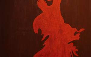 Flamenco 1 PinturadeRobert van Bolderick  Compra arte en Flecha.es