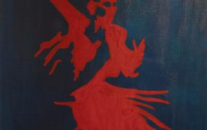 Flamenco 3|PinturadeRobert van Bolderick| Compra arte en Flecha.es