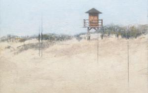 Playa de Isla Canela II|PinturadeJosé Luis Romero| Compra arte en Flecha.es