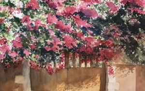 El portón|PinturadeChela Grijelmo| Compra arte en Flecha.es