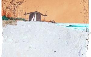 Puesta de sol CollagedeEduardo Query  Compra arte en Flecha.es