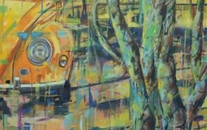 Coche en amarillos|PinturadeAmaya Fernández Fariza| Compra arte en Flecha.es