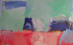 ENTRE  COLORES  COMPLEMENTARIOS  UN  HORIZONTE|PinturadeJesús Cuenca| Compra arte en Flecha.es