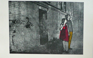 La Pared|Obra gráficadeAna Valenciano| Compra arte en Flecha.es