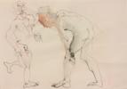 Dos   Dibujo de Jaelius Aguirre   Compra arte en Flecha.es