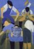 Pescadores II | Obra gráfica de Jenifer Elisabeth Carey | Compra arte en Flecha.es