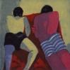 Los Chicos en la Playa II | Obra gráfica de Jenifer Elisabeth Carey | Compra arte en Flecha.es