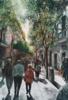 calle de Fuencarral, Madrid | Pintura de Pedro Higueras | Compra arte en Flecha.es