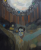 El hombre de la máscara | Pintura de Fernando Charro | Compra arte en Flecha.es