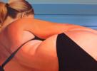 I love Flesh | Pintura de Aurora Rumí | Compra arte en Flecha.es