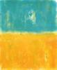 Orange field | Pintura de Luis Medina | Compra arte en Flecha.es
