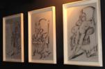 mujer cansada | Dibujo de Miguel Mansanet | Compra arte en Flecha.es