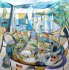 """""""tapas""""   Pintura de Miguel Mansanet   Compra arte en Flecha.es"""