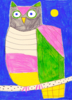 Búho | Dibujo de Inma Lorente | Compra arte en Flecha.es