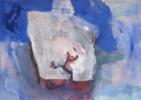 Santorini- Mykonos | Pintura de Álvaro Marzán | Compra arte en Flecha.es