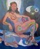 El reposo | Pintura de Nader | Compra arte en Flecha.es