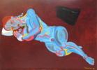 El reposo II | Pintura de Nader | Compra arte en Flecha.es