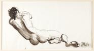 De Espaldas | Dibujo de Jaelius Aguirre | Compra arte en Flecha.es
